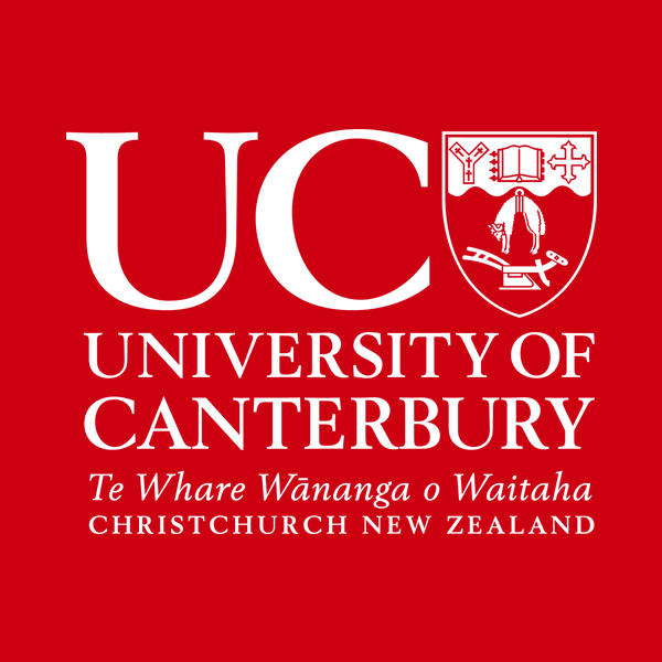 University of Canterbury logo New Zealand brought you by Thames International