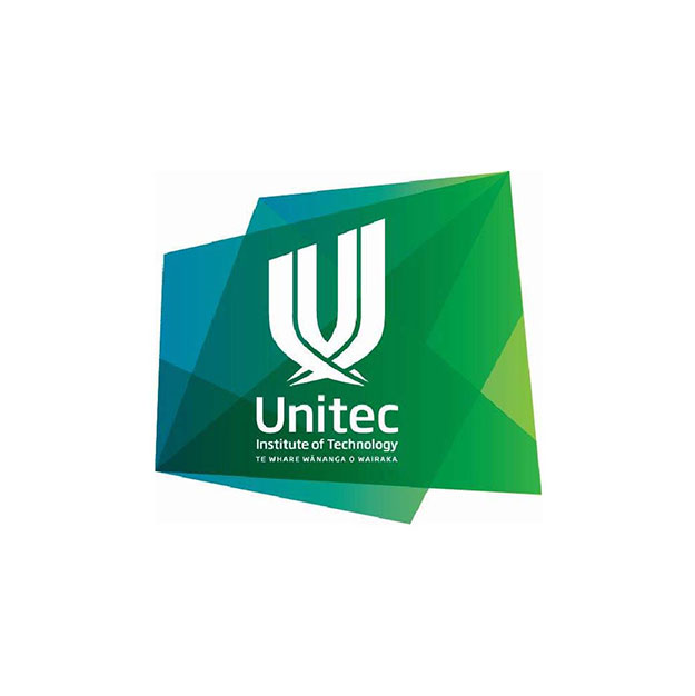 Unitec logo New Zealand brought you by Thames International