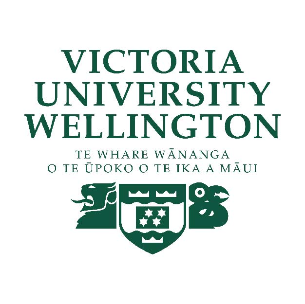 Victoria University Wellington logo New Zealand brought you by Thames International