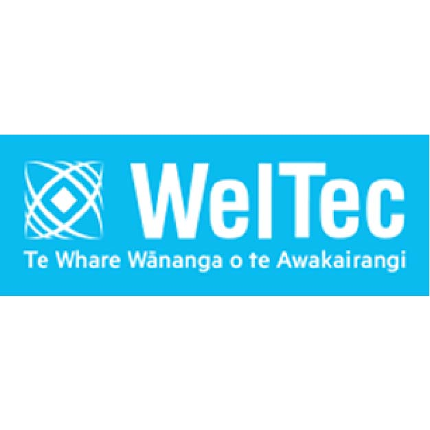 WelTec logo New Zealand brought you by Thames International