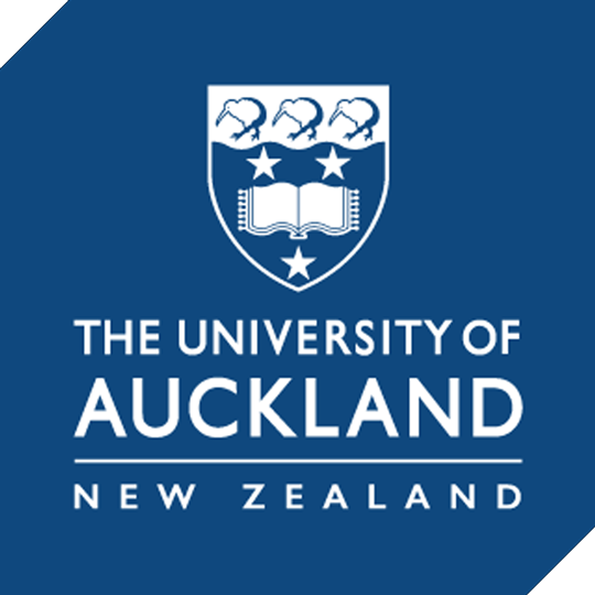 The University of Auckland logo New Zealand brought you by Thames International
