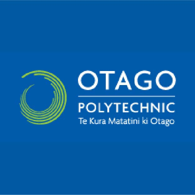 Otago Polytechnic logo New Zealand brought you by Thames International