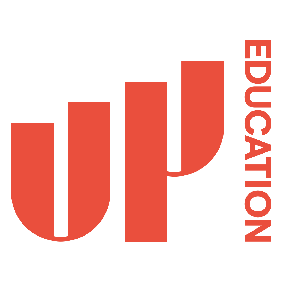 UP Education Logo, New Zealand brought you by Thames International
