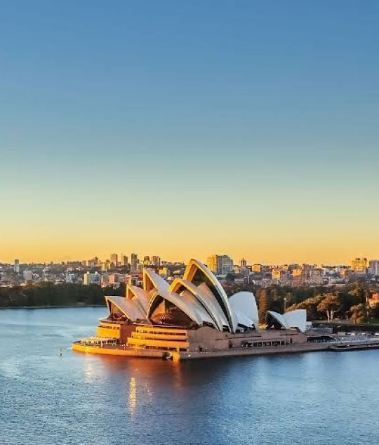 Australia with Thames international