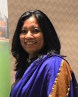 Mrs Keriena Rajudin - General Manager of Thames International