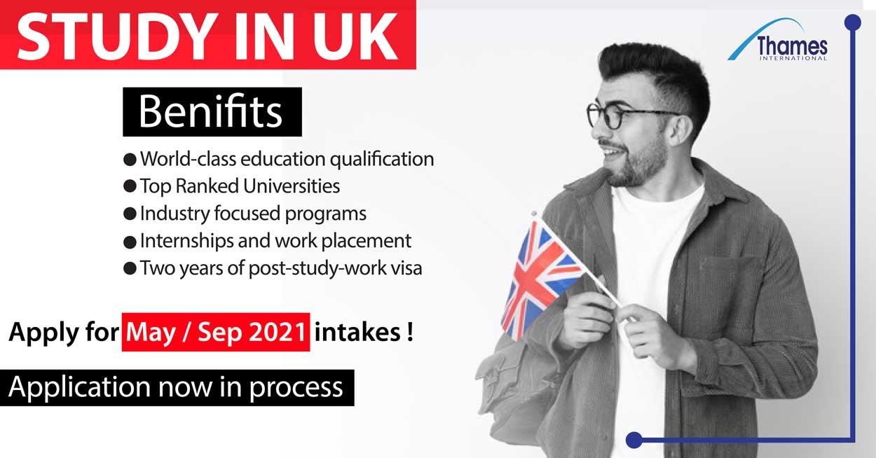 benefits of study in uk