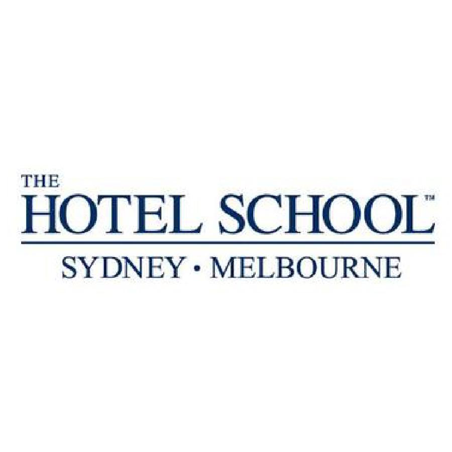The Hotel School logo Australia